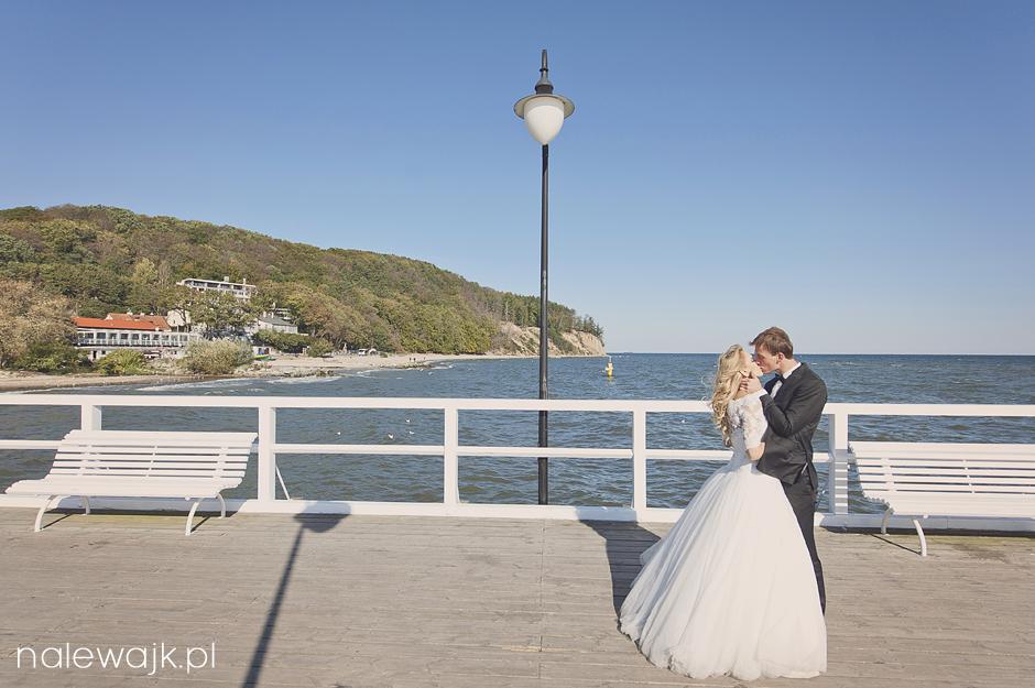 Plener ślubny nad morzem | Sesja ślubna w plenerze | Trójmiasto