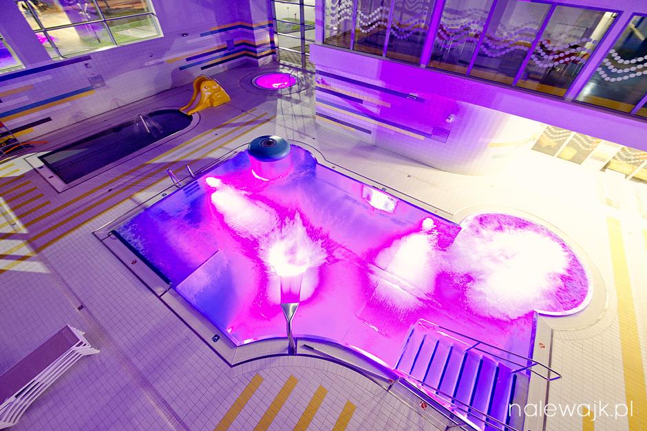 Basen | Sauna | Jacuzzi | Kryta pływalnia | Fotografia wnętrz