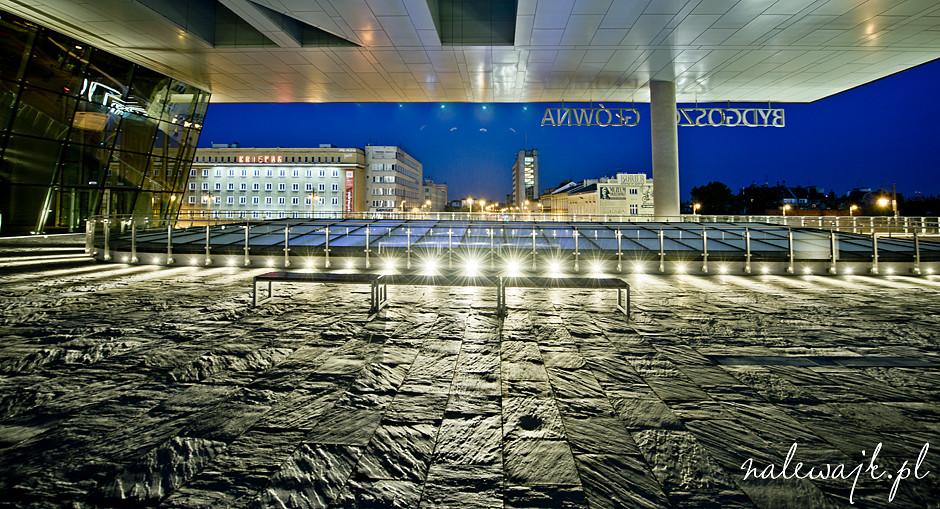 Sesje fotograficzne architektury | Dworzec kolejowy w Bydgoszczy
