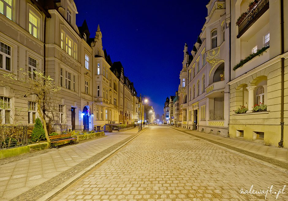 Ulica Augusta Cieszkowskiego | Galeria zdjęć | Fotografie | Miasto nocą