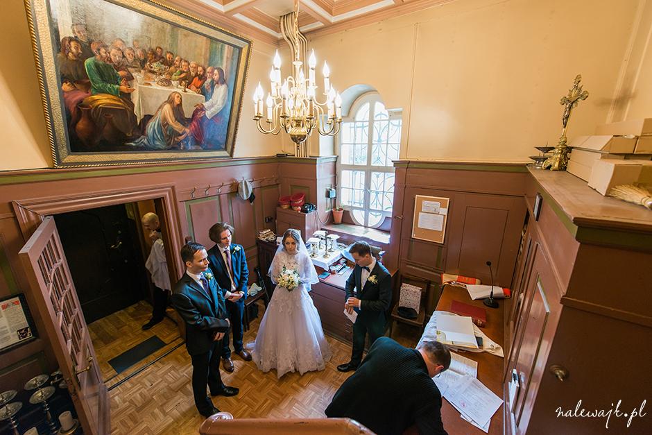 Ślub w rycie trydenckim | Uroczysta ceremonia ślubu w kościele NSPJ na Placu Piastowskim