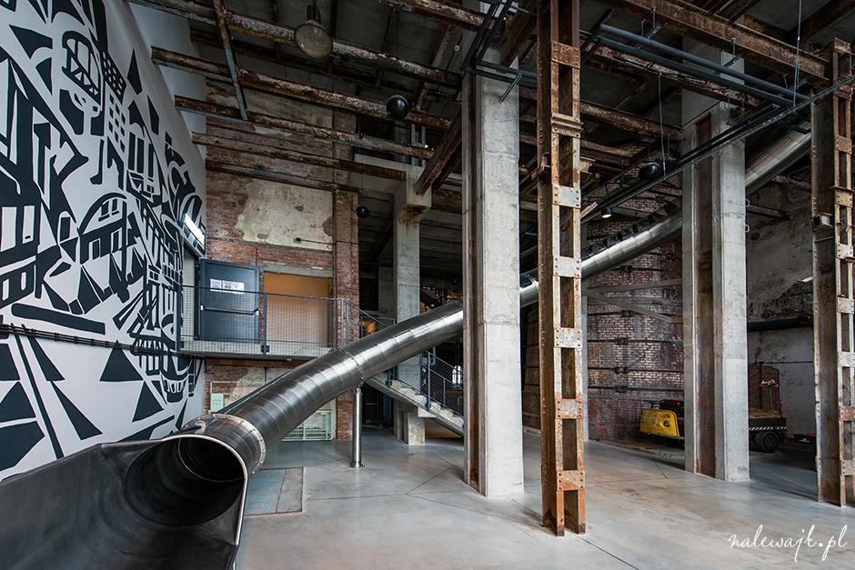 industrialne wnętrza