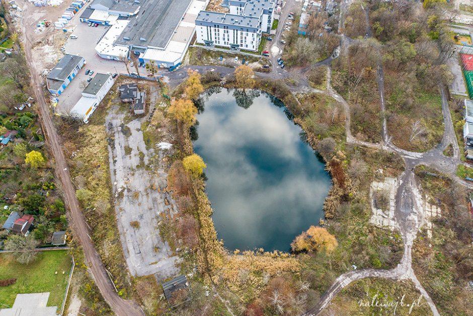 zdjęcia działek z drona
